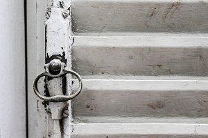 Rusted Window Closeup