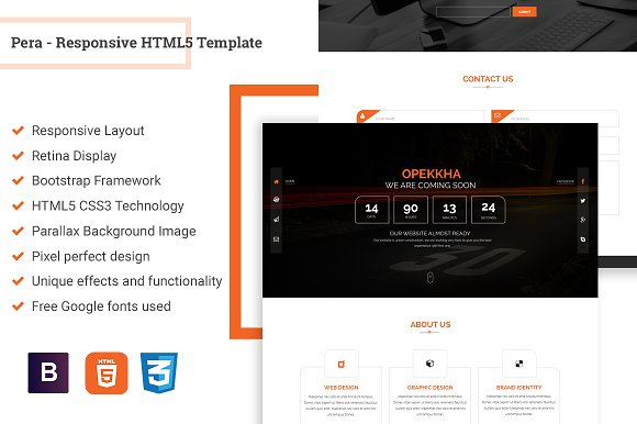 Opekkha HTML Coming Soon Template