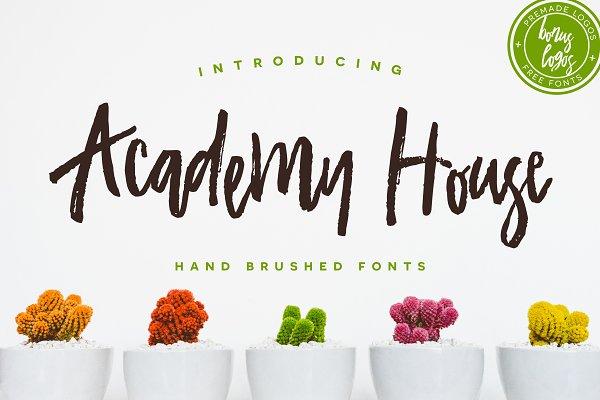 Academy House + Logos