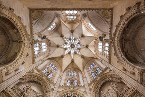 gothic cathedral in Burgos, Spain.