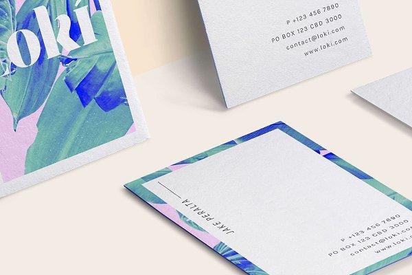 Loki Business Card Template