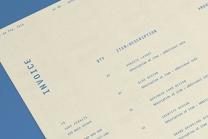 Modern & Stylish Invoice Template