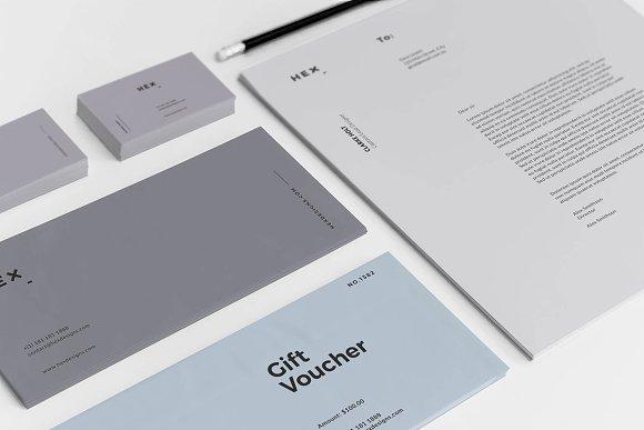 HEX Branding Identity Set