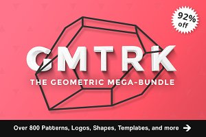 Geometric Mega Bundle // GMTRK