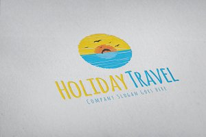 Travel Holiday Logo