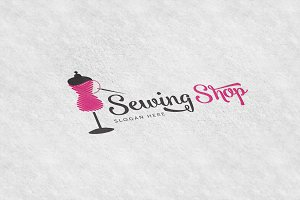 Shop Sewing Logo