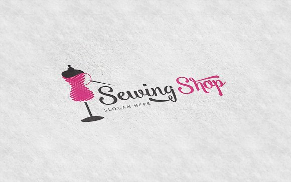 Shop Sewing Logo
