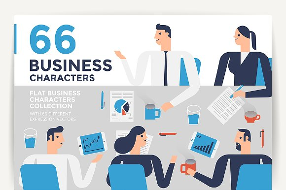 66 Business Characters