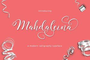 Mahdaleina Typeface