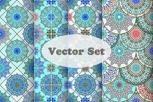 Vector Maroccan Set