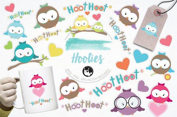 Hooties Illustration Pack
