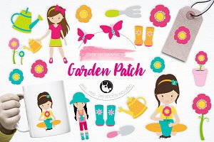 Garden Patch illustration pack