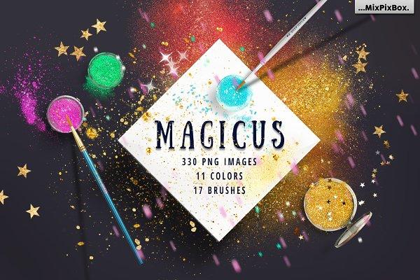 MAGICUS - dust + brushes.