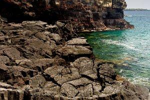 Coastal landscape on Big Island