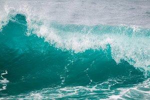 Waves on Hawaii