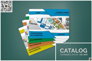 Multipurpose A5 Landscape Catalog