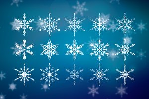 Snow Flakes | Vector