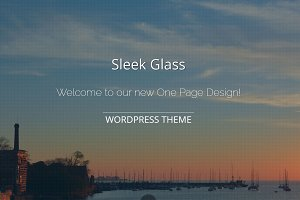 Sleek Glass - Wordpress Theme