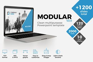MODULAR Powerpoint Template
