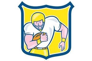 American Football Fullback Shield Re