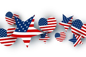 USA background design