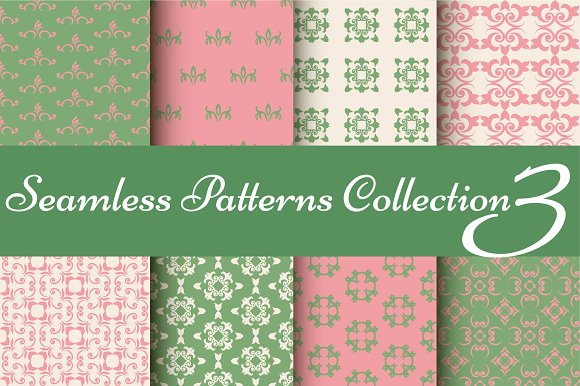 Set Of 8 Complementary Patterns