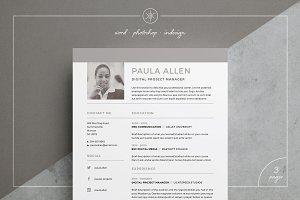 Resume/CV | Paula