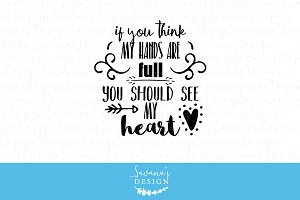 You should see my heart SVG cut file