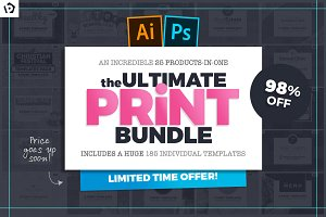 The Ultimate Print Templates Bundle
