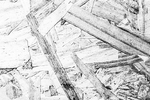 Plywood Texture in Black and White
