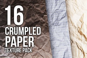 Crumpled paper - Texture pack