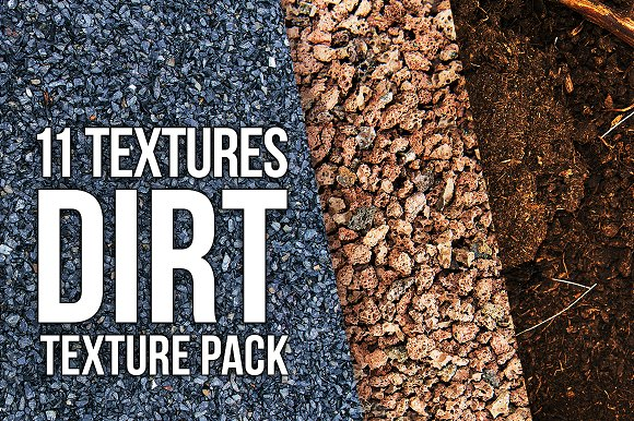 Dirt And Stones Texture Pack