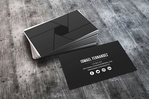 Photography Business Color Card
