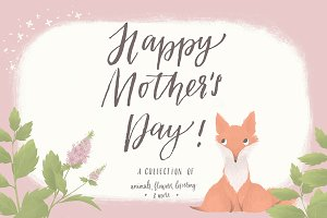 Mother's Day Cute Animals Set