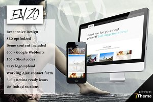 Enzo - WordPress Portfolio Theme