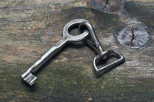 Key and carabiner