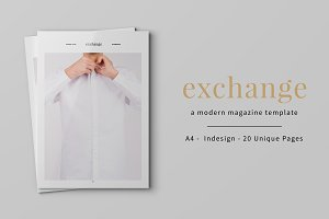 Exchange Magazine Template