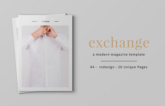 Exchange Magazine Template