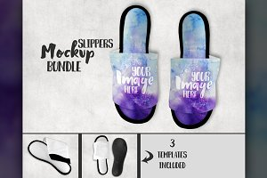 Dye Sublimation Slipper Mockup