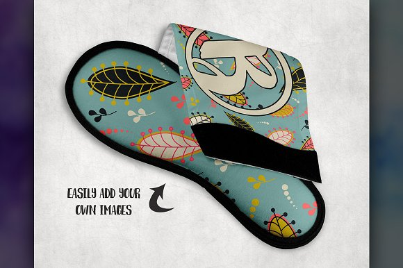 32e1f6cf6b11c Dye Sublimation Slipper Mockup