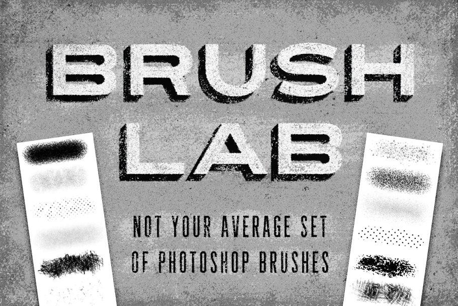 Brush Lab – Photoshop Brushes ~ Photoshop Add-Ons ~ Creative Market