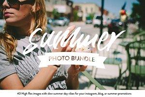 Vintage Summer Photo Bundle