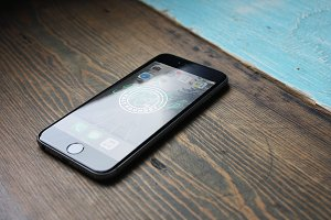 iPhone 6 Photoshop Mockup #2