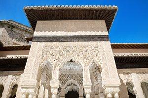 famous Alhambra palace, Granada