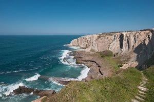 Azkorri cliffs and coastline