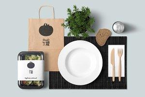 4 Vegetable logos