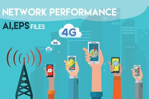 NETWORK PERFORMANCE 4G,LTE
