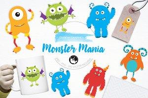 Monster Mania illustration pack