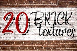 20 Brick Textures