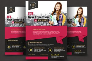School Flyer Template